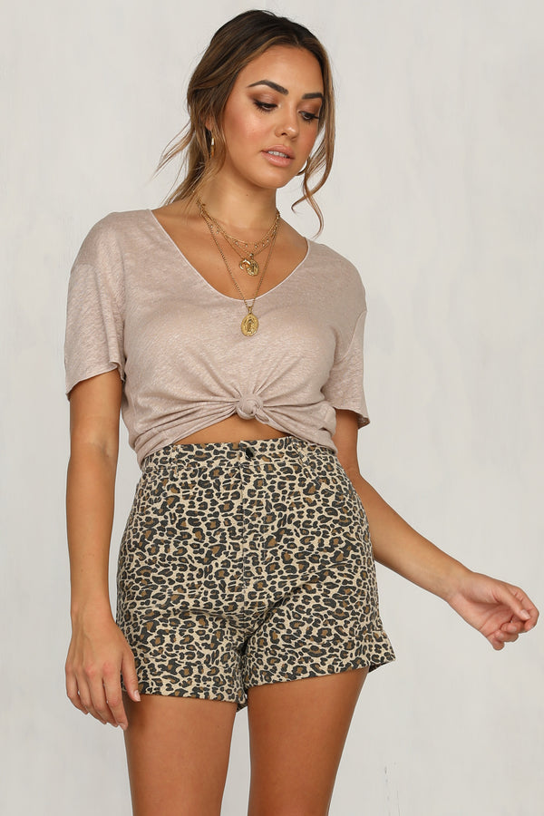 Inner Fighter Shorts (Leopard)