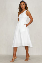 Casey Dress (White)