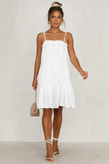 Salt Water Dress (White)