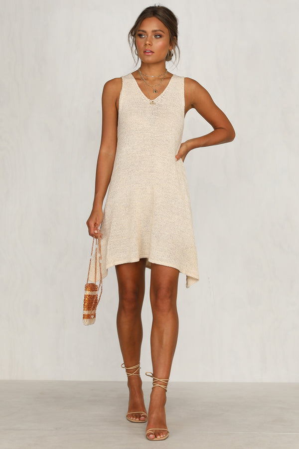 Super Eight Dress (Beige)