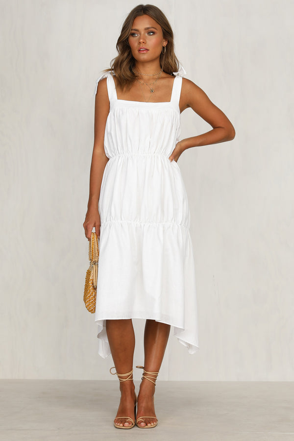 Kady Dress (White)