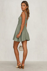 Alice Dress (Khaki)