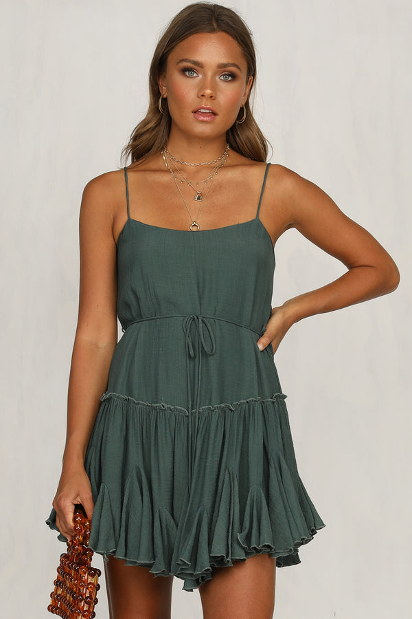 Stark Light Dress (Emerald)