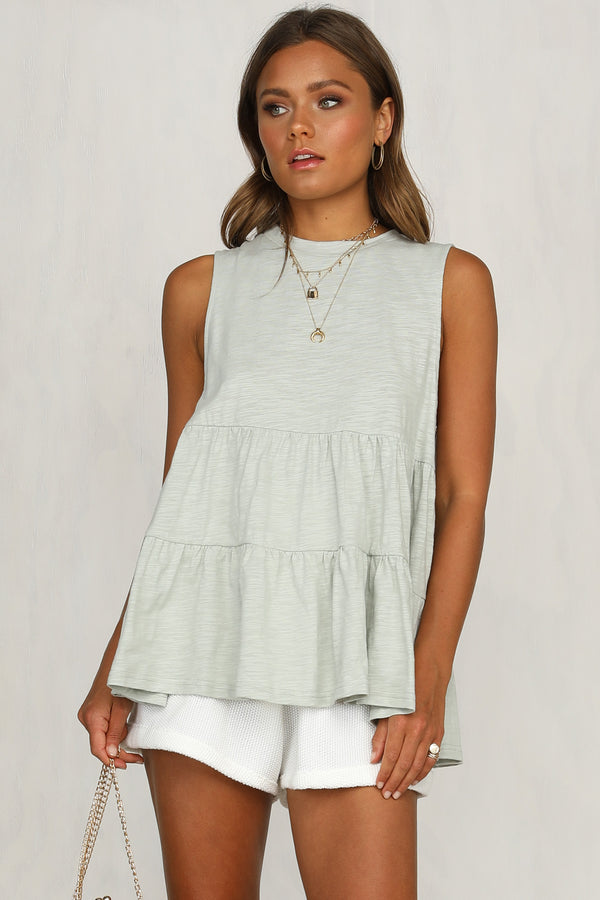 Chelsy Top (Sage)