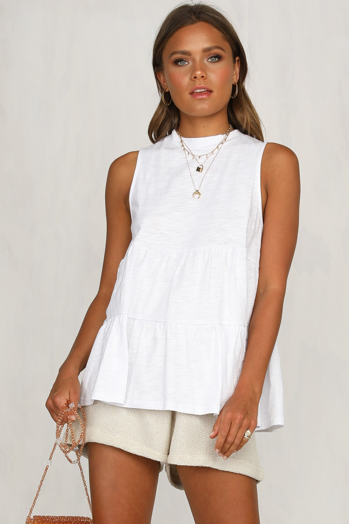 Chelsy Top (White)