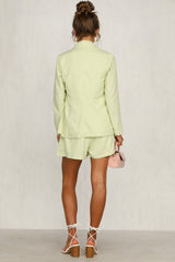 Wild Love Blazer (Lime)