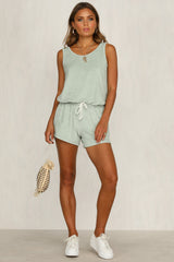 Baby Baby Playsuit (Mint)