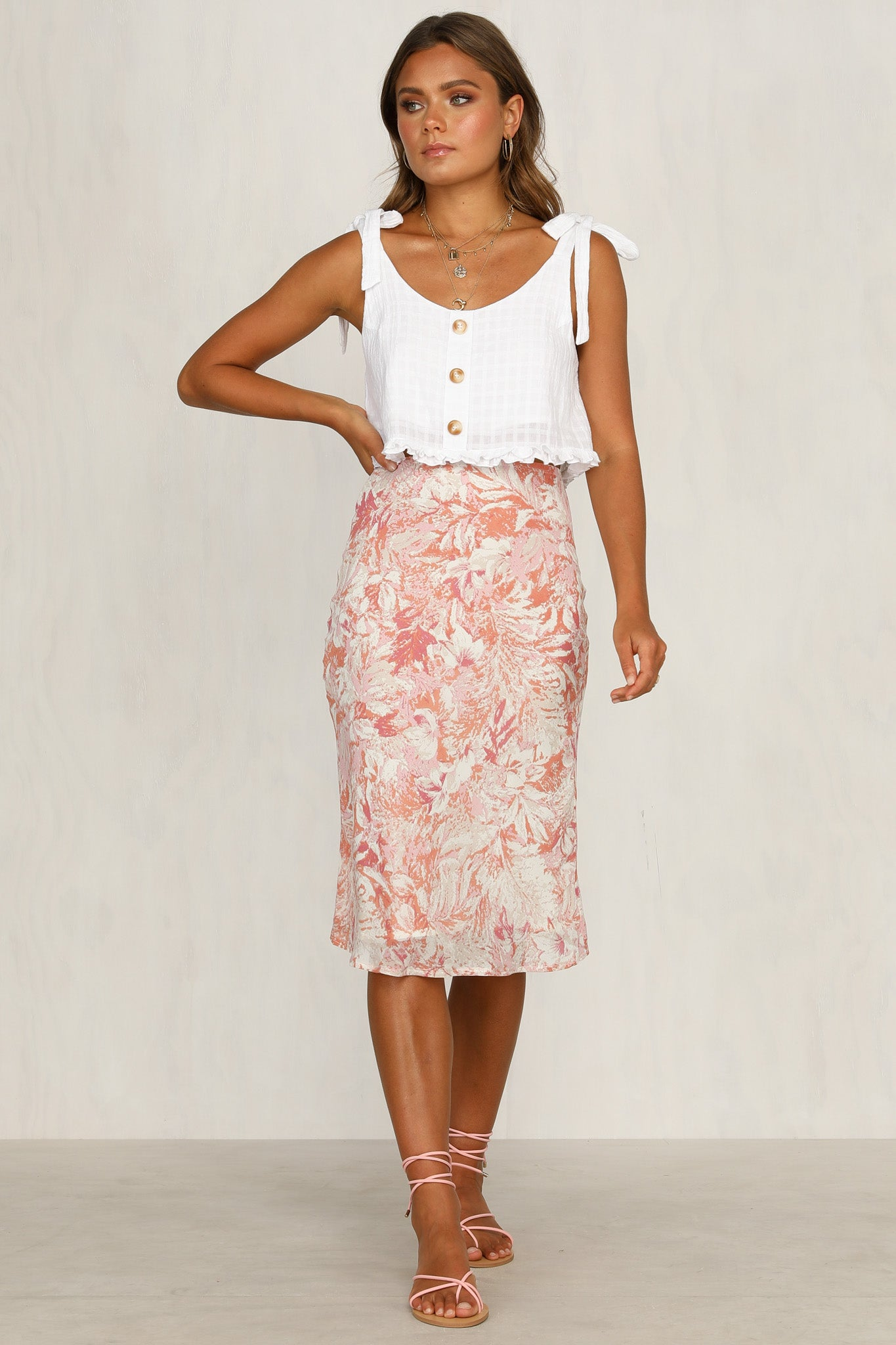 Blanche Skirt (Pink)