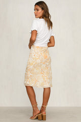 Blanche Skirt (Yellow)