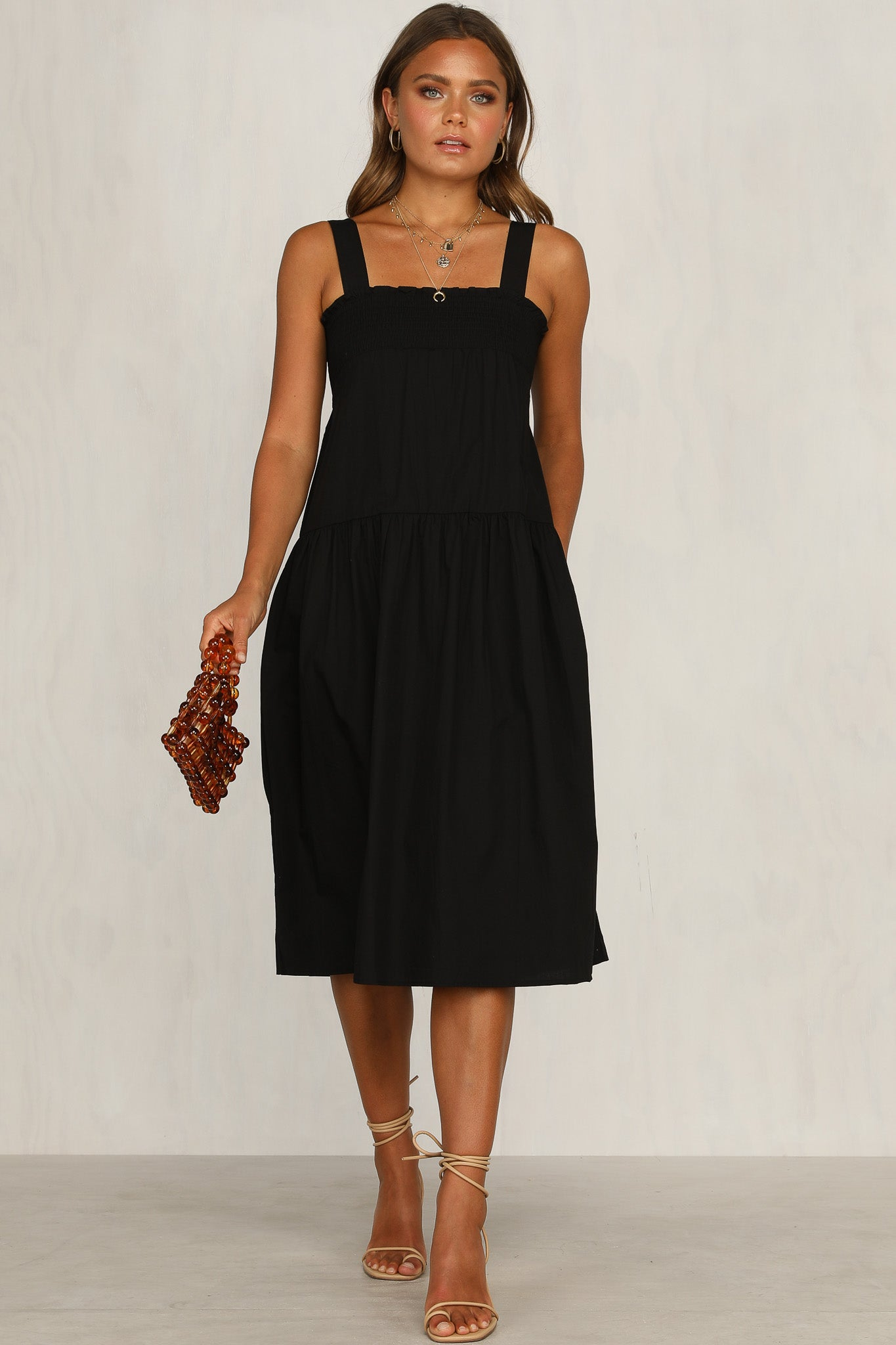 Frida Dress (Black)