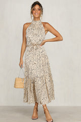 Take The Plunge Dress (Gold)