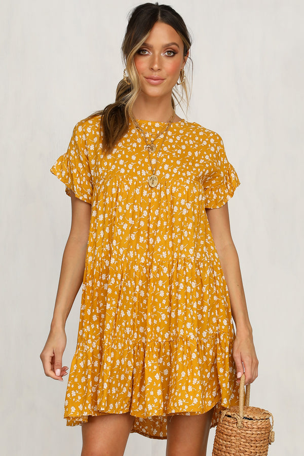 Georgie Dress (Yellow)