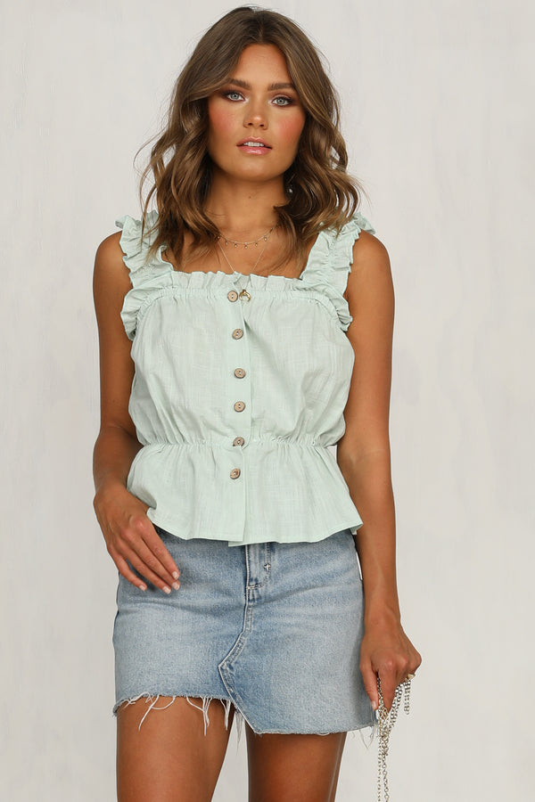 Secret Keeper Top (Green)