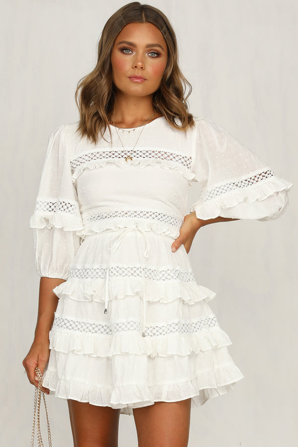 Casper Dress (White)