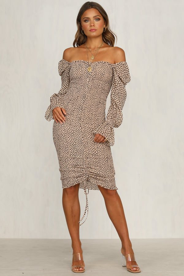 Evangelie Dress (Animal Print)