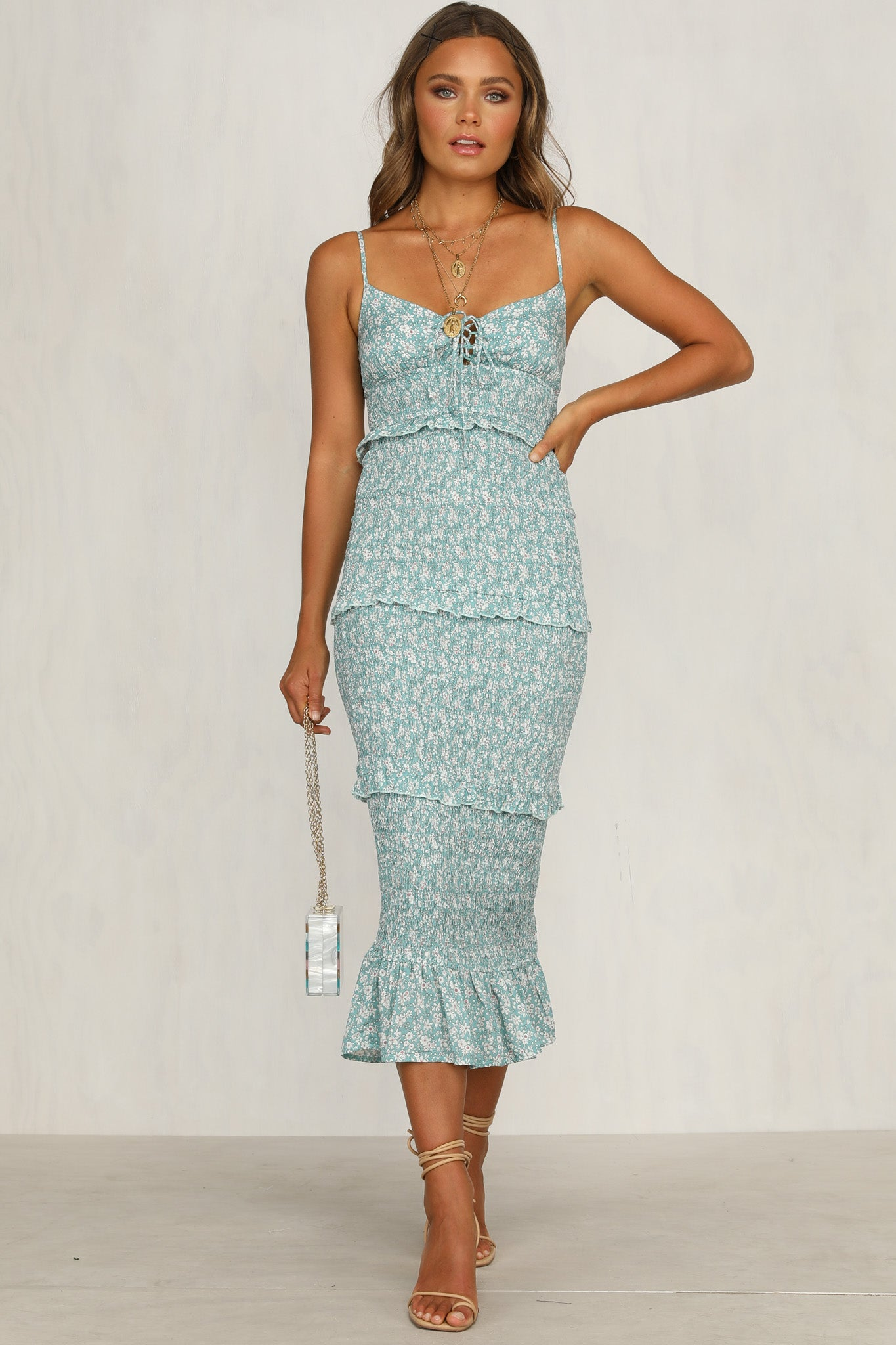 Levitate Dress (Teal)
