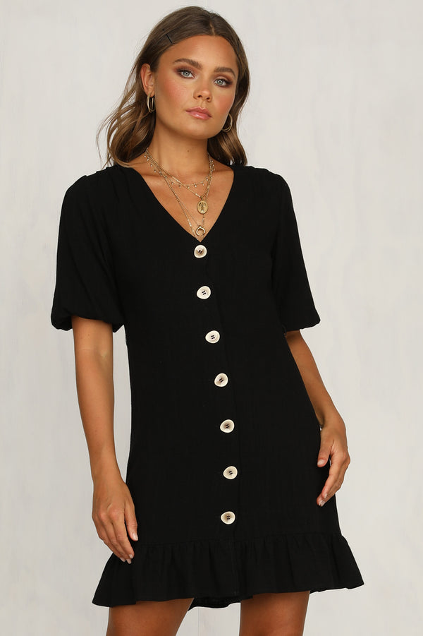 Feel The Love Dress (Black)