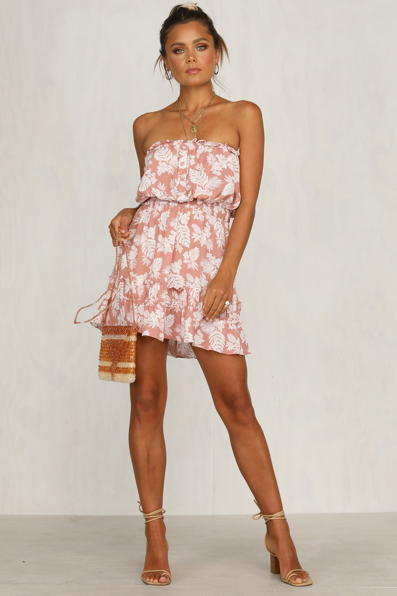 Sugar Cane Dress (Pink)