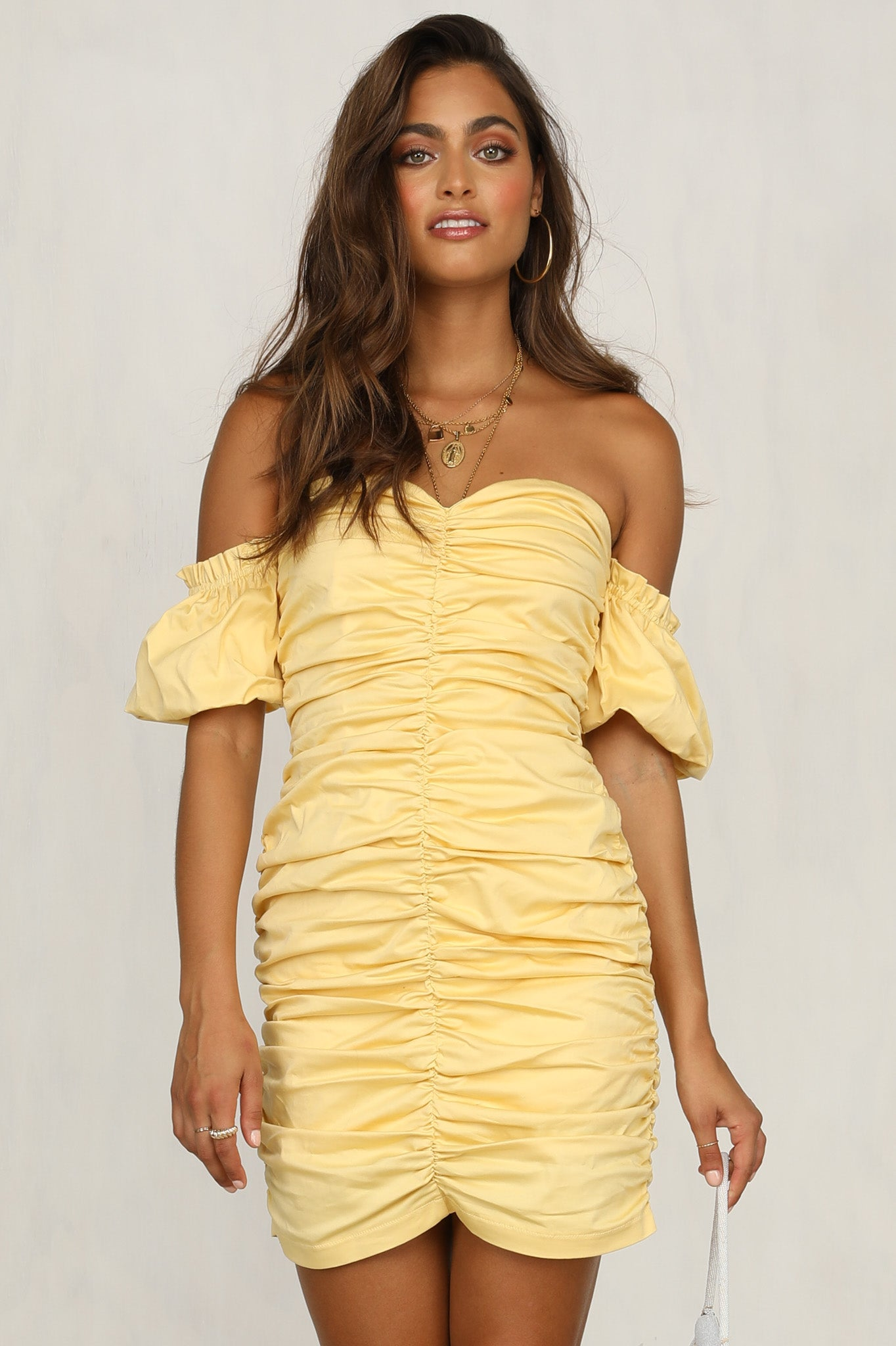 Raymond Dress (Lemon)