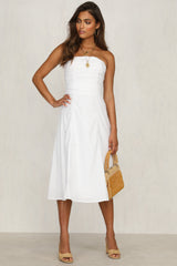 Hearts A Mess Dress (White)