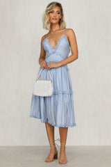Harriette Dress (Blue)