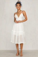 Harriette Dress (White)