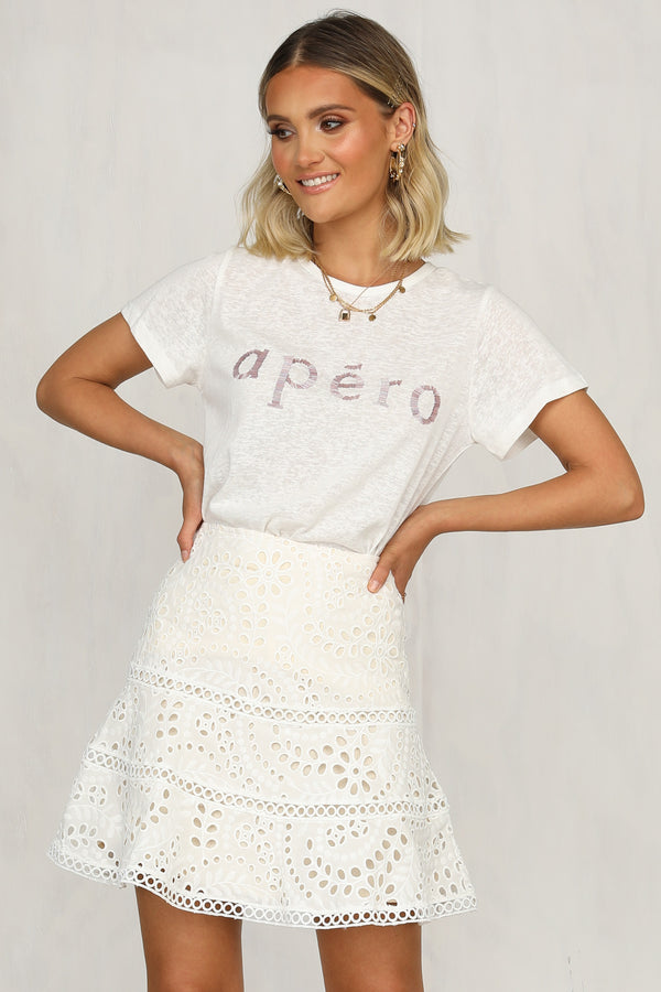 Apero Femme Tee (Lilac)