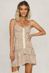 Twin Flames Dress (Cream)