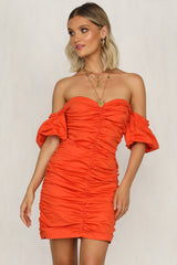 Raymond Dress (Tangerine)