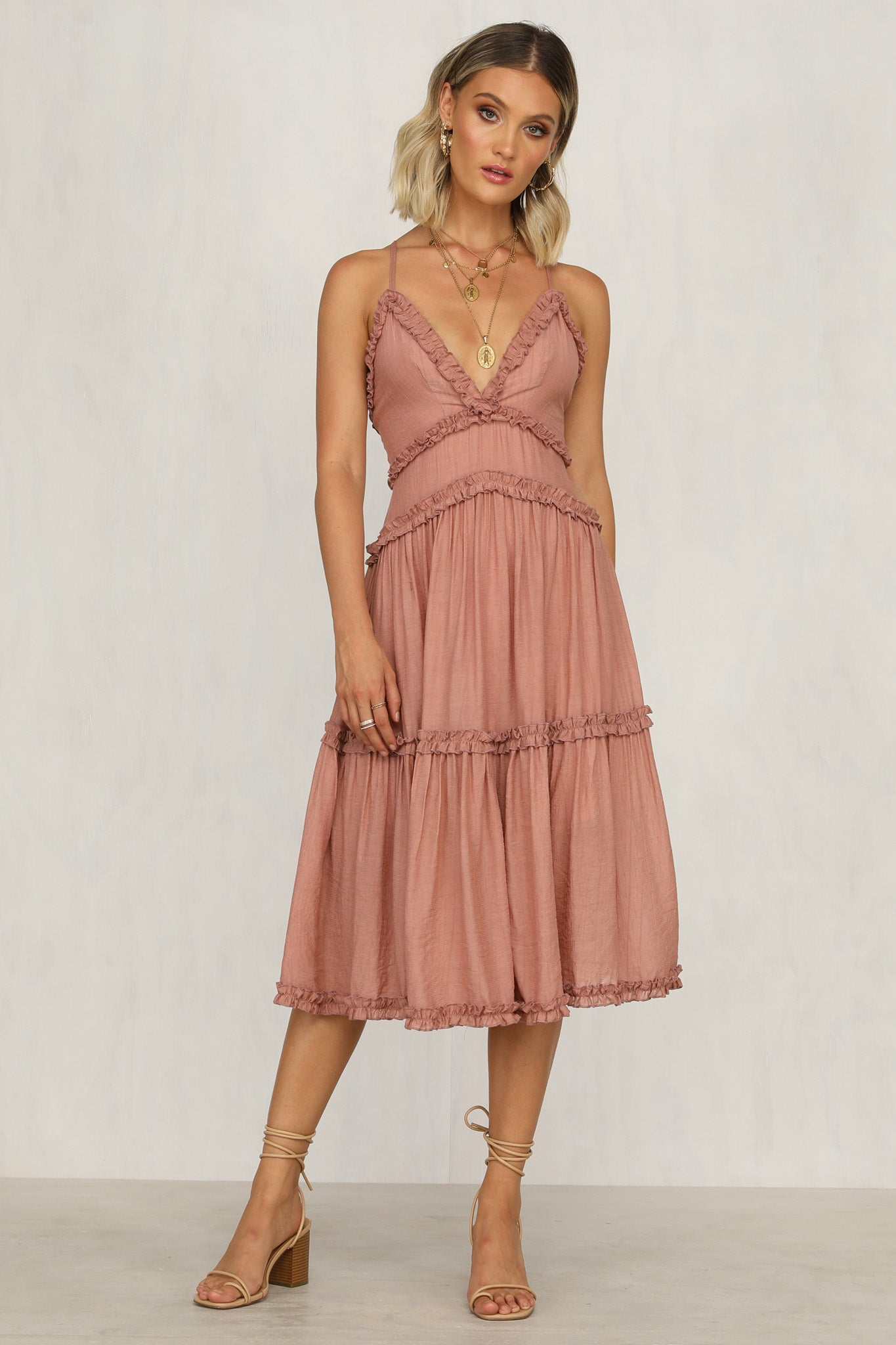 Harriette Dress (Rose)