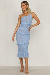 Sarina Dress (Blue)