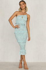 Sarina Dress (Mint)