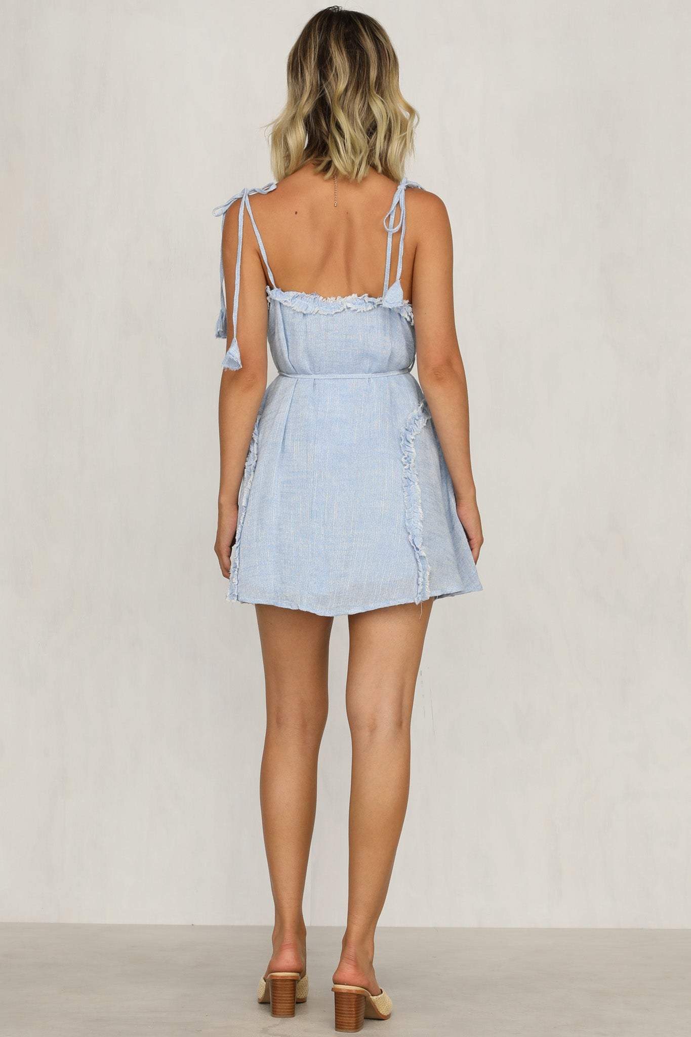 Delight Dress (Blue)