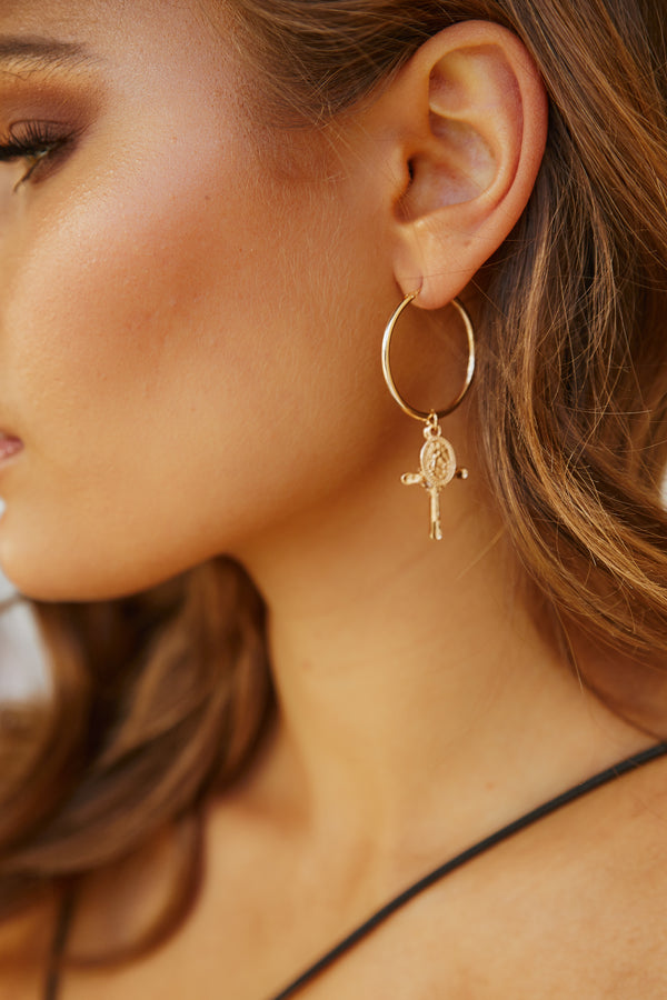 Kyra Hoop Earrings