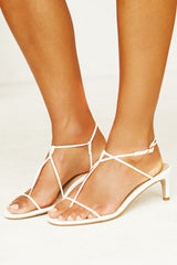 Halina Heel (White)