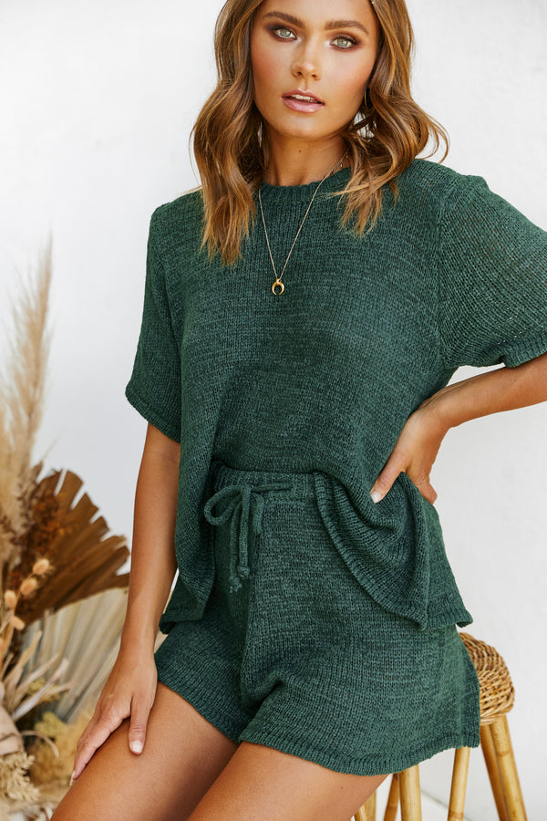 Finn Knit Set (Emerald)
