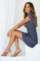 Teddi Dress (Navy)