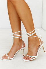 June Sandal (White)