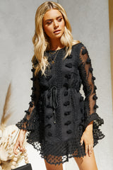 Lock It Dress (Black)