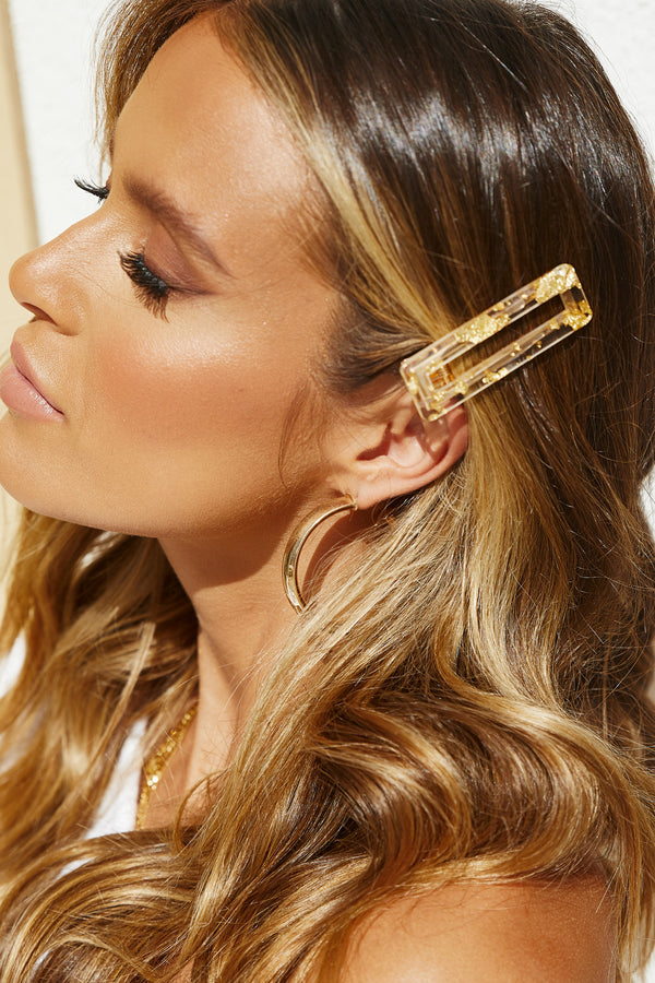 Candy Girl Hair Clip (Gold)