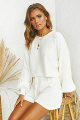 Chantelle Knit Top (White)