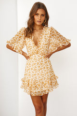 Go Your Own Way Dress (Mustard)
