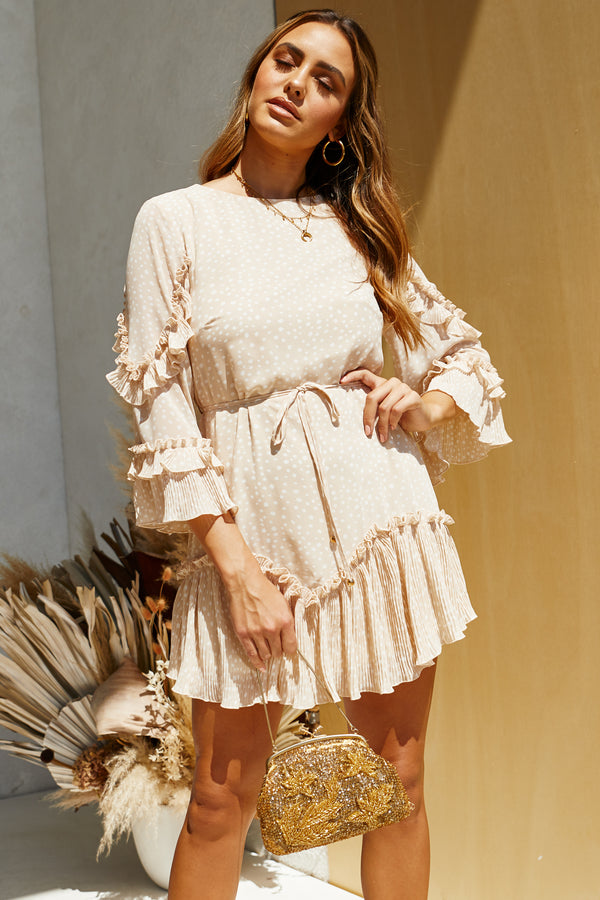 Isla Dress (Nude)