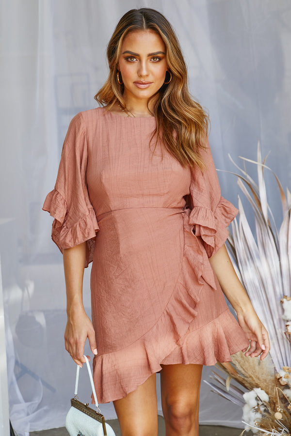 All Fired Up Dress (Rose)