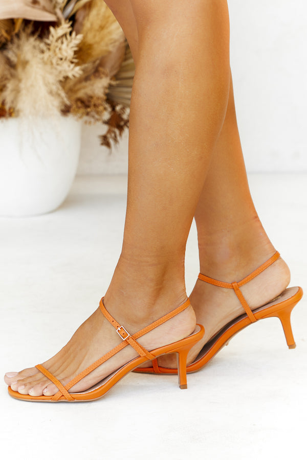 Wynne Heel (Orange)