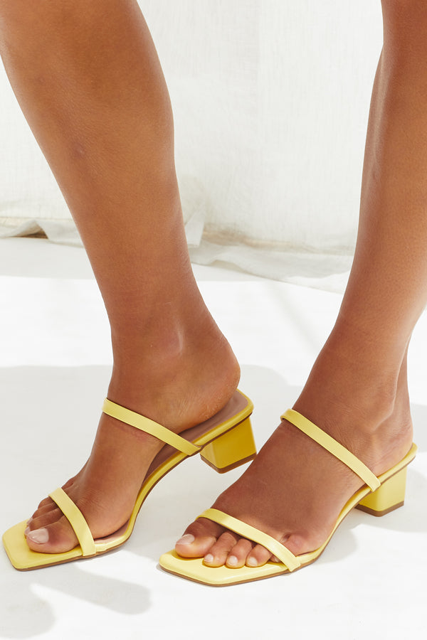 Terra Shoes (Lemon)