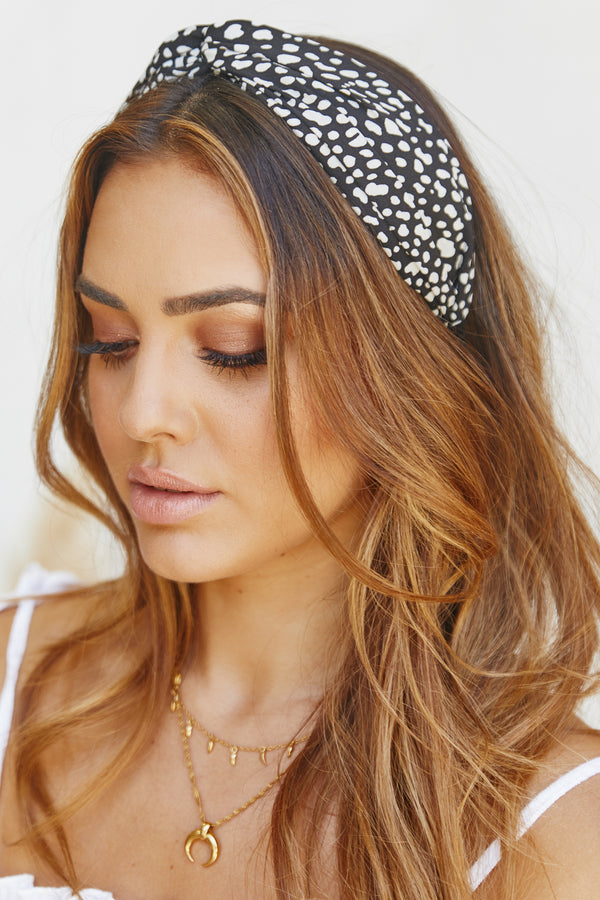 Raffaello Headband (Black)