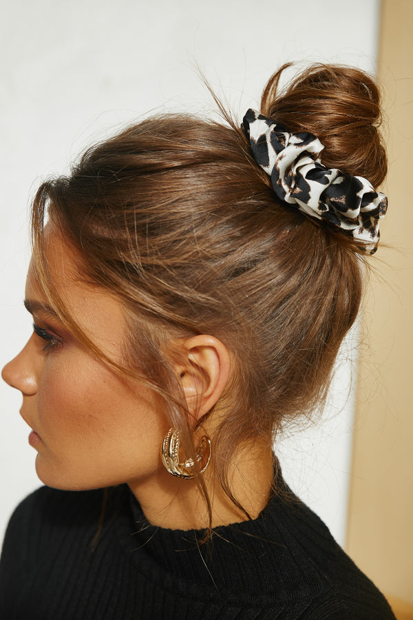 Wild Cat Scrunchie