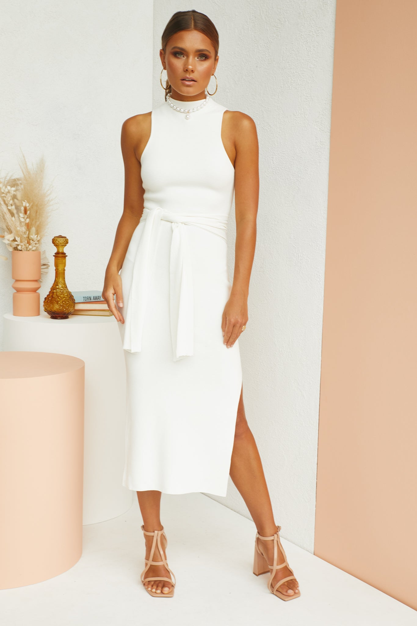 Night Whisper Dress (White)