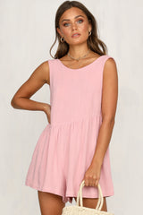 Womanhood Playsuit (Pink)